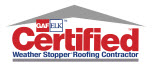 GAF ELK Certified Weather Stopper Roofing Contractor